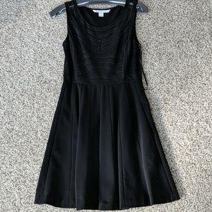 Diane von Furstenberg Black Lace Bodice dress